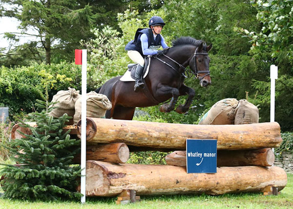 Ros Canter & Spring Ambition at Gatcombe (2) 2017 © Fiona Scott-Maxwell