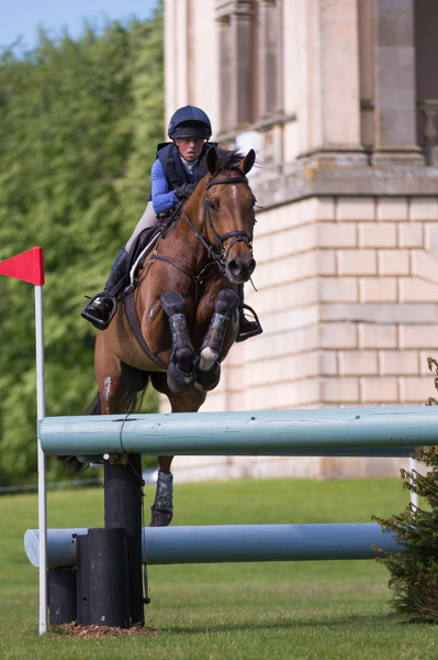 Ros Canter & No Excuse at Houghton 2017 © Trevor Holt