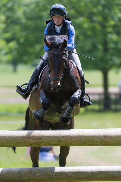 Ros Canter & Spring Ambition at Houghton 2017 © Trevor Holt