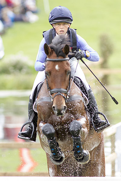 Rosalind Canter & Zenshera at Blenheim 2017 © Lucy Hall