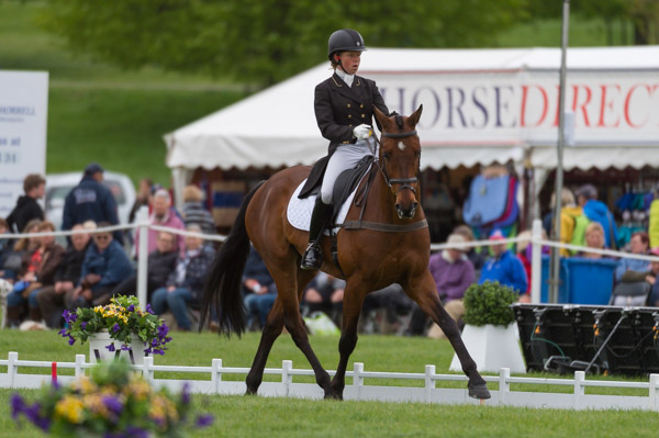 Ros Canter & Zenshera at Chatsworth 2017 © Trevor Holt