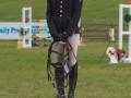 Ros Canter at the 8/9 year old championship prizegiving, Burnham Market 2020  © Trevor Holt