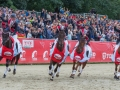 Lap Of Honour: Tina, Ros, Oliver & Nicola
