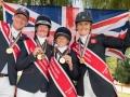 Team GB: Ros, Oliver, Tina & Nicola