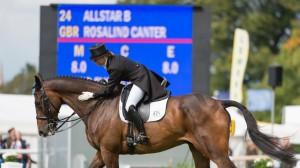 Rosalind Canter (GBR) and  Allstar B