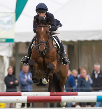 Rosalind Canter of Great Britain riding  NO EXCUSE