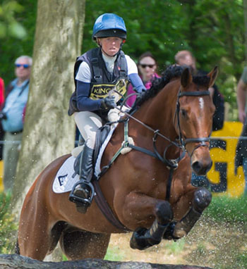 Rosalind Canter (GBR) riding No Excuse