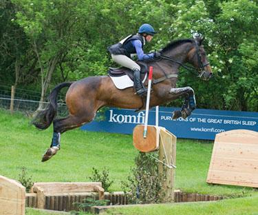 Rosalind Canter (GBR) riding Allstar B