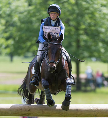 ROSALIND CANTER (GBR) RIDING SPRING AMBITION