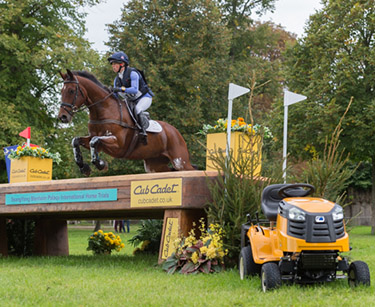 ROSALIND CANTER (GBR) RIDING ZENSHERA