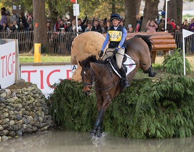 Rosalind CANTER (GBR) AND ZENSHERA