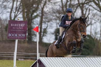 ROSALIND CANTER  RIDING LORDSHIPS GRAFFALO
